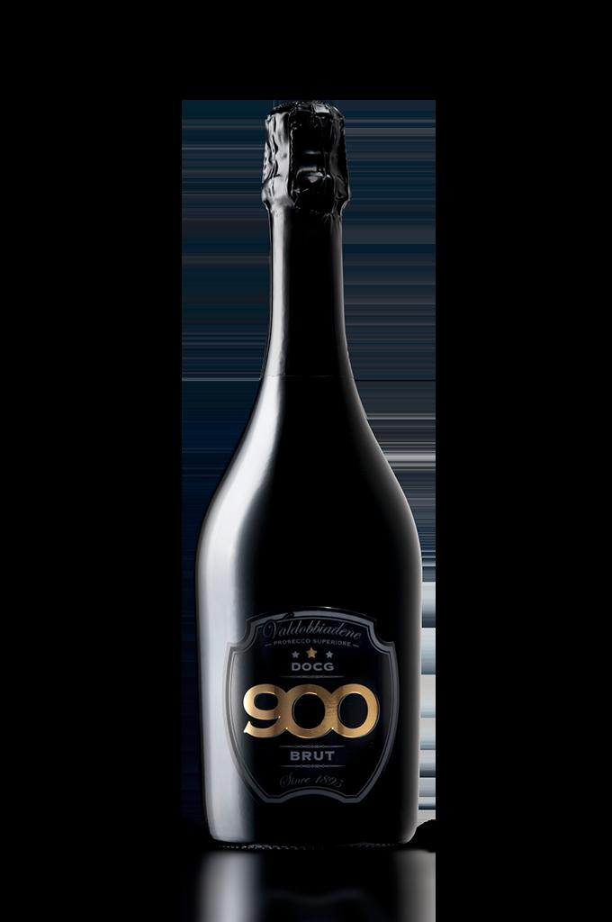 900 wine: bottiglia del prosecco DOCG Valdobbiadene Superiore Brut adagiata in posizione verticale versione mobile900 wine: bottiglia del prosecco DOCG Valdobbiadene Superiore adagiata in posizione verticale versione mobile