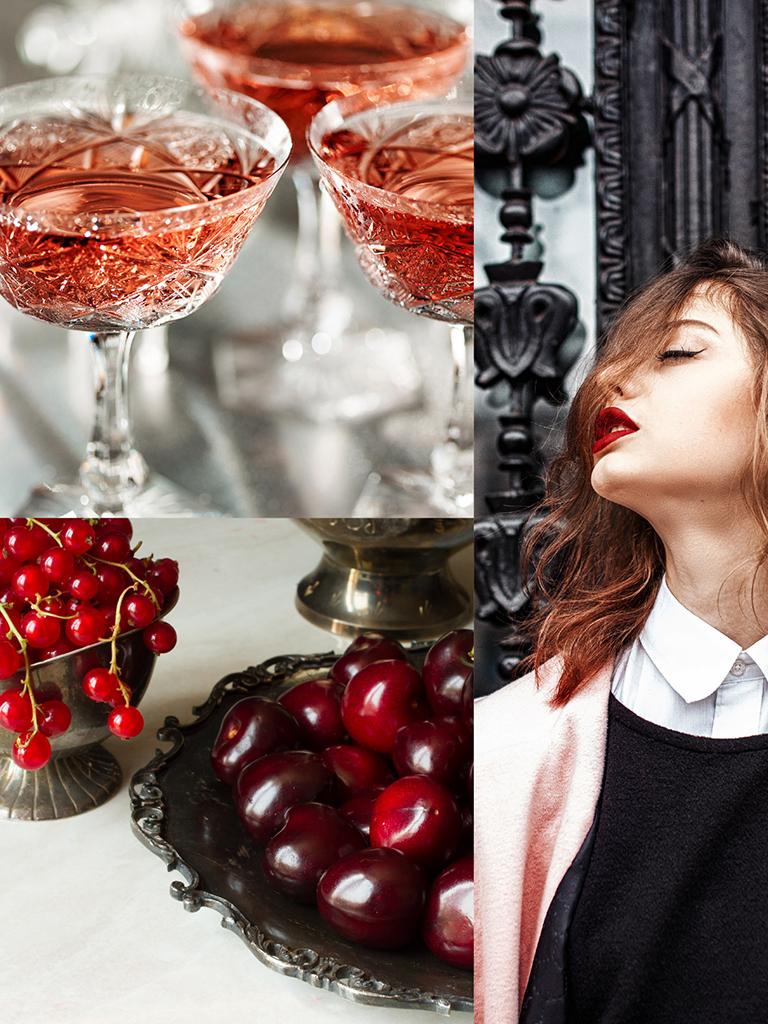 900 wine: composizione rappresentante il carattere unico dello spumante Rare Rosé